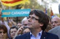 Глава Каталонии сравнил действия Мадрида с диктатурой Франко