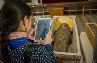В Киево-Печерской Лавре показали древнеегипетские мумии, найденные в фондах музея