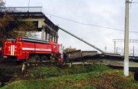 В Амурской области РФ обрушился автомобильный мост над Транссибирской магистралью