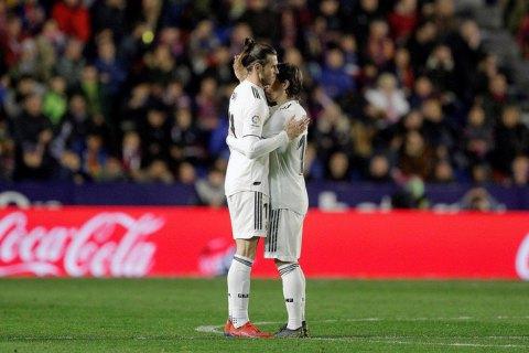"""Игрок """"Реала"""" не захотел праздновать свой гол в чемпионате Испании, отмахнувшись от партнера"""