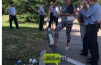 Бывший зампредседателя Ялтинского горисполкома пытался сжечь себя у входа в Приморский парк