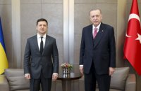 Зеленський зустрівся з Ердоганом