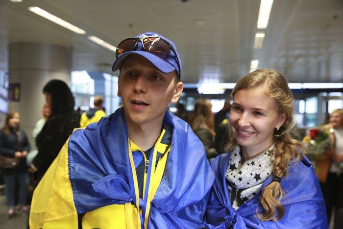 Павел Мамонтов с супругой
