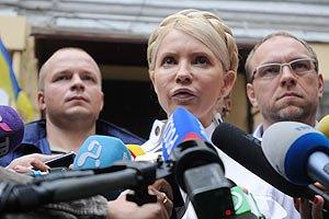 Тимошенко не беспокоит количество дел, возбужденных против нее