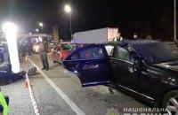 На Житомирской трассе под Киевом мотоциклист бросил взрывчатку в Mercedes (Обновлено)