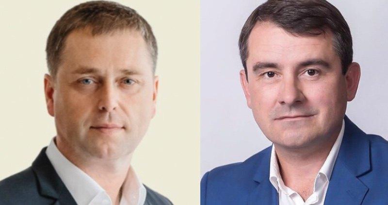 Павло Придворов і Вадим Лях (справа)