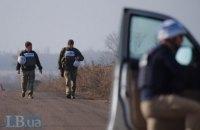 """ОБСЄ за минулу добу нарахувала понад 150 порушень """"тиші"""" на Донбасі"""