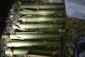 СБУ виявила схованку зі зброєю в Житомирській області