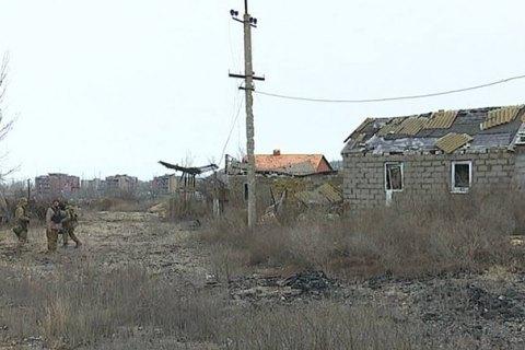 Боевики обстреливают позиции морской пехоты под Широкино