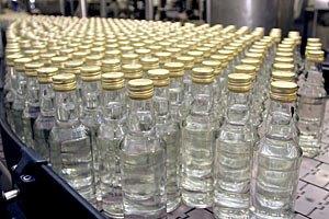 Производство водки за год сократилось на 30%