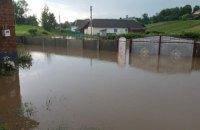У Тернопільській області після зливи підтопило кілька сіл