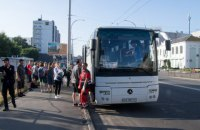 В Киеве водитель автобуса с детьми умер за рулем