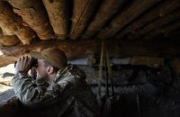 Бойовики чотири рази порушили режим припинення вогню на Донбасі, одного бійця поранено