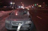 ДТП у Києві на Троєщині: автомобіль збив насмерть пішохода на переході