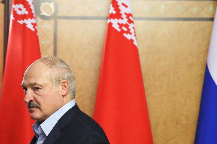 Президент Беларуси Александр Лукашенко во время переговоров в Сочи, 7 февраля 2020