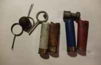 На Грушевського знайшли гільзи від бойових патронів