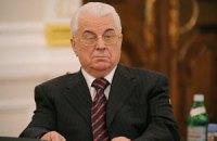 Кравчук проигноривал торжественное собрание депутатов