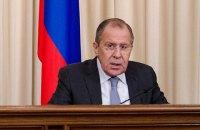 Лавров расценил слова Турчинова как отказ выполнять минские договоренности