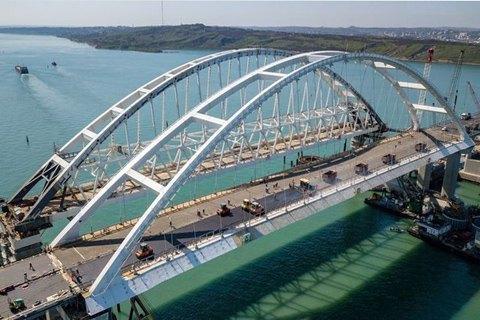 Россия анонсировала пробный поезд по Керченскому мосту