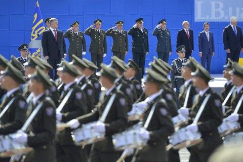 На парад до Дня незалежності вийдуть 4500 військових і 250 одиниць техніки