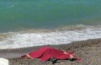 В Крыму выбросило на пляж тело пропавшего в апреле крымского татарина с гирей на шее