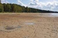 Поліція відкрила кримінальну справу через обміління озера Світязь