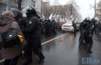 Полиция призывает митингующих не препятствовать депутатам выходить из Верховной Рады