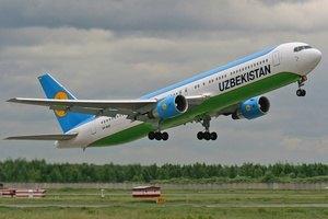 Узбекский авиаперевозчик приостановил полеты в Киев