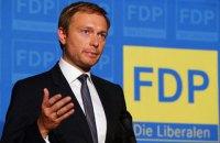 Лидер немецких либералов призвал закрыть глаза на аннексию Крыма (обновлено)