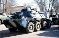 Військове командування отримало БТР з кондиціонерами