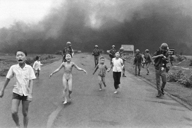 Работа пулитцеровского лауреата Ника Ута «Напалм во Вьетнаме»