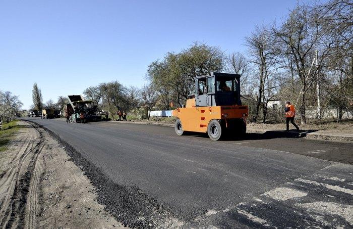 Ремонт дороги державного значення Н-08 Бориспіль–Дніпро–Запоріжжя