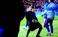 """Головний тренер """"Атлетіко"""" пояснив свій непристойний жест після другого гола в ворота """"Ювентуса"""""""