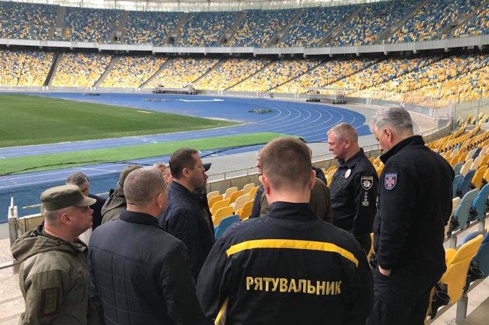 Полиция готовится к обеспечению общественного порядка и безопасности на Олимпийском.