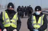 За три дня локдауна полиция выявила нарушения в более чем 1,6 тыс. заведений