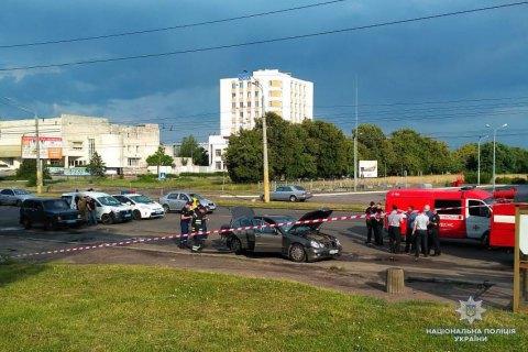 У Черкасах вибухнув автомобіль місцевого бізнесмена