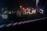 """В Одессе у """"Молодой гвардии"""" на ходу загорелся трамвай с пассажирами"""