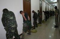 СБУ показало фото и видео с террористами, захваченными в Новоайдаре
