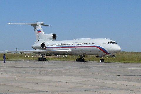 Російський військовий літак Ту-154, що летів до Сирії, впав у Чорне море