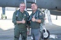 Муженко полетал в США на истребителе F-15