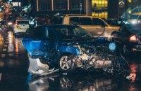 """Поліція затримала водія """"Ауді"""", який розбив п'ять автомобілів на площі Перемоги в Києві"""