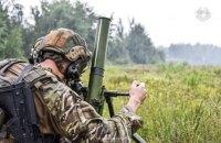 Окупанти тричі обстріляли українських військових на Донбасі з початку доби