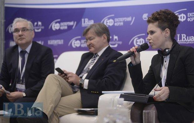 Ирина Бережная, народный депутат Украины