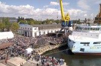 """""""Нібулон"""" побудував найбільше судно і ставить рекорди в річкових перевезеннях"""