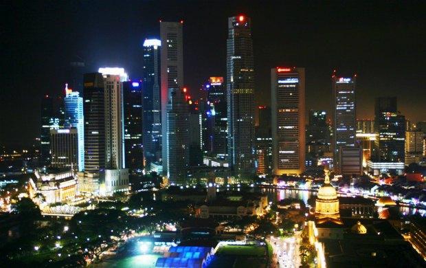 Сінгапур, фінансовый район