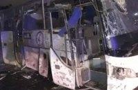 У пирамид Гизы в Египте подорвали автобус с туристами