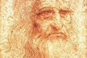 Знаменитий автопортрет Леонардо да Вінчі вперше виставили в Римі