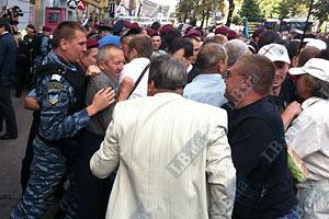 Сторонники Тимошенко перекрыли Крещатик