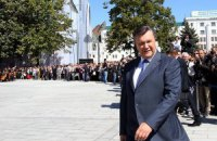 Янукович образився на журналіста за питання про мову