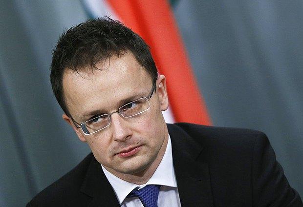 Министр иностранных дел Венгрии Пейтер Сийярто